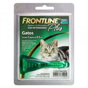 Frontline Plus Gatos  Antipulgas e Carrapatos
