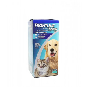 Frontline Spray Cães e Gatos - 100ml / 250ml  Antipulgas e Carrapatos