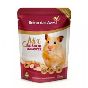 Reino das Aves Hamster Frutas - 500g