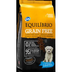 Ração Equilíbrio Grain Free para Cães Filhotes Raças Mini Mandioca - 1,5Kg