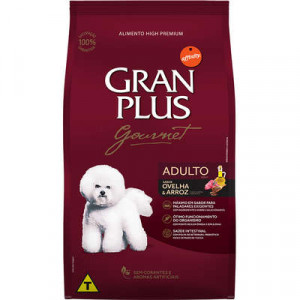Gran Plus Adulto Ovelha e Arroz - 3kg