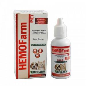 Hemofarm Pet para cães e gatos - 30ml / 125ml