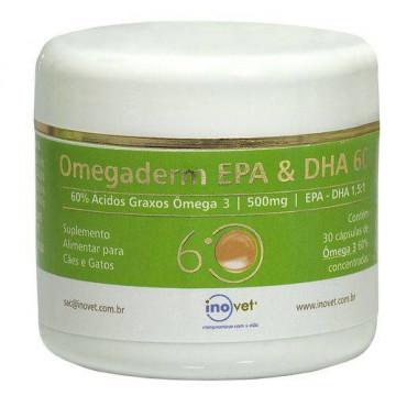 Omegaderm Inovet EPA DHA 60% - 500mg - 30 cp