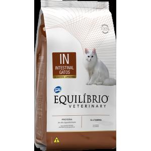 Ração Equilíbrio Veterinary Gatos Intestinal - 500g/2kg