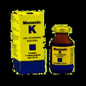 Anti-hemorrágico Monovin K Injetável - 20ml