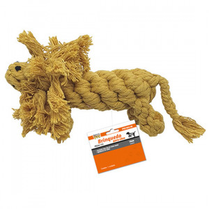 Brinquedo Leão de Corda Premium para Cães