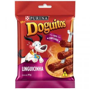 Petisco Doguitos Linguicinha - 65g