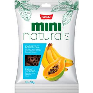 Snacks Mini Naturals Digestão Mamão & Banana - 60g