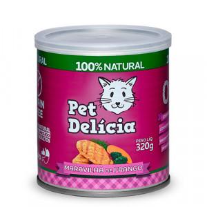 Lata Pet Delícia - Maravilha de Frango - 110g / 320g