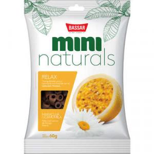 Snacks Mini Naturals Relax Maracujá & Camomila - 60g