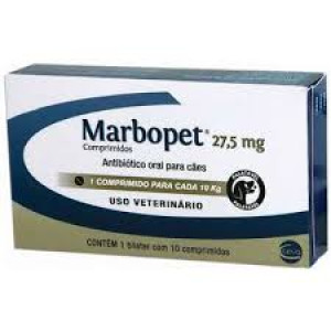 Marbopet 27,5 mg - 10 Comprimidos