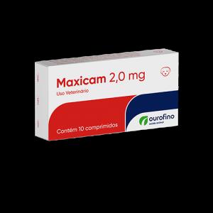Maxicam - 0.5mg/2mg - cartela com 10 comprimidos