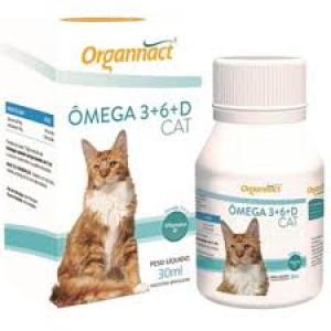 Ômega 3 e 6 e Vitamina D Gatos - 30ml
