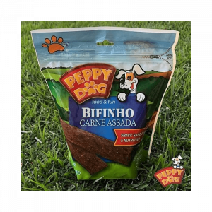Bifinho Peppy Dog Carne Assada Cães - 500g