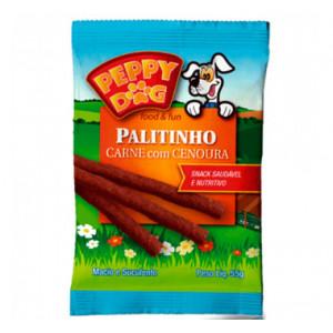 Palitinho Peppy Dog Carne com Cenoura - 55g