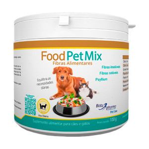 Food Pet Mix Cães e Gatos - 100g /500g