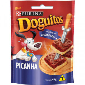 Petisco Doguitos Picanha - 65g