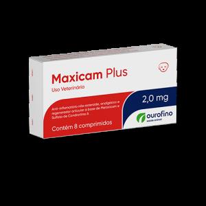 Maxicam Plus - 0,5mg/2mg - cartela com 8 comprimidos
