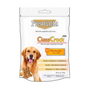 Biscoito Premiatta Classcrock Proteção Cães - 250 g