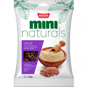 Snacks Mini Naturals Vigor Quinoa & Amaranto - 60g