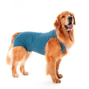 Roupa Pós Castração Pet Med Duo Dry para Cães Macho - Azul