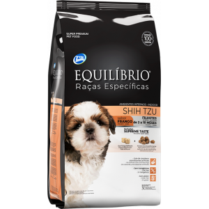 Ração Equilíbrio Cães Shih Tzu Filhotes Sabor Frango -  2kg
