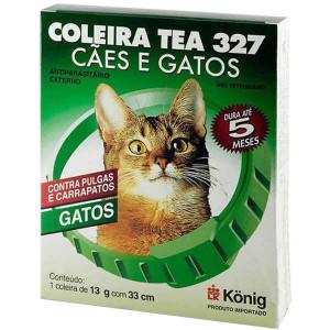 Coleira Tea gato - 33cm