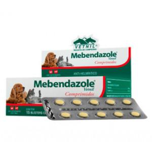 Mebendazole Vetnil - 6 comprimidos