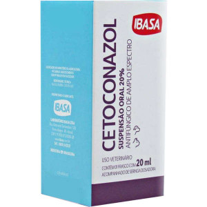 Ibasa Cetoconazol 20% oral - 20ml