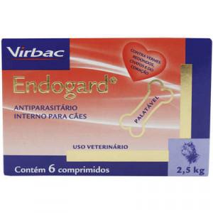 Endogard 6 comprimidos