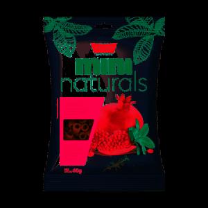 Snacks Mini Naturals Romã - 60g