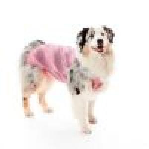 Roupa Pós Cirúrgica Pet Med Ultra Light Color Regular para Cães - Rosa Ball
