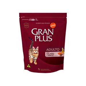 Gran Plus Gato Adulto Salmão e Arroz - 1kg