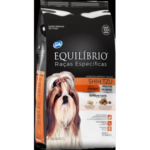 Ração Equilíbrio Raças Específicas Cães Shih Tzu Adultos Sabor Frango - 2kg/7,5kg