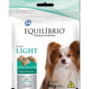 Petisco Equilíbrio Snack Light Raças Pequenas - 80g