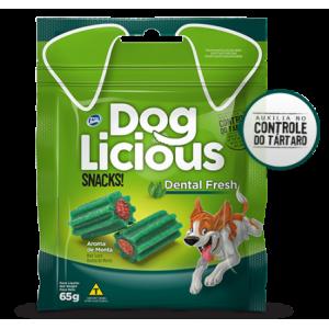 Petisco Dog Licious Snacks Dental Fresh - 65g