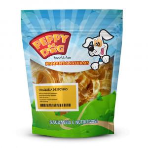 Peppy Dog Traqueia Bovina Desidratada - 100g