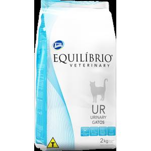 Ração Equilíbrio Veterinary Gato Urinary - 500g/2kg